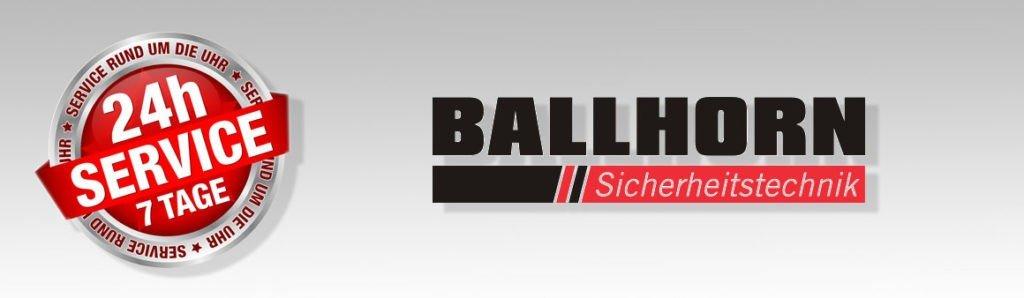 24-Stunden-Service von Ballhorn Sicherheittechnik