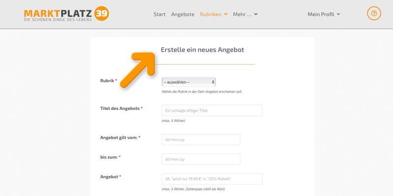 Anegbotsangaben | marktplatz39.de