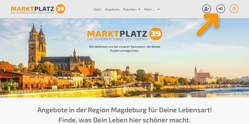 Marktplatz39 - Login