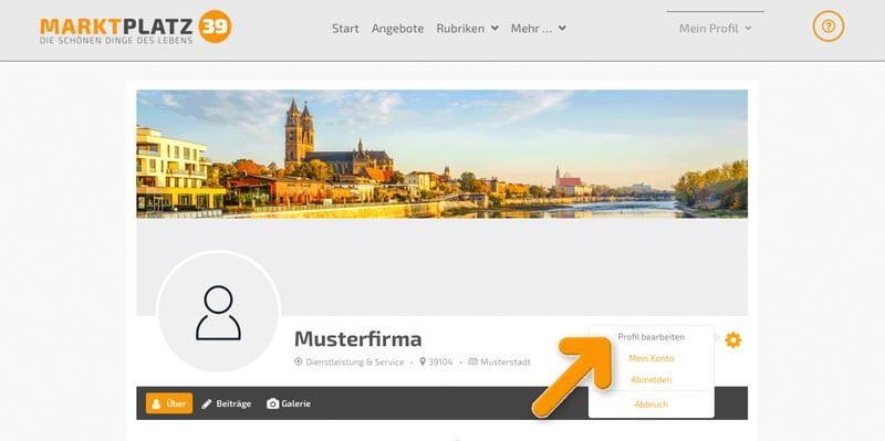 profil bearbeiten 2 | marktplatz39.de