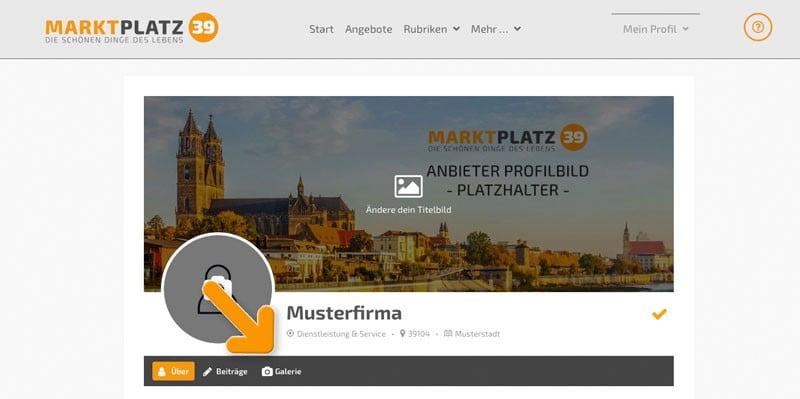 Marktplatz39 - Galerie im Profil