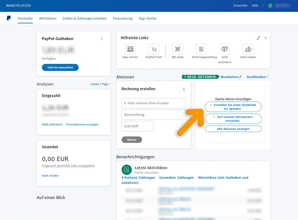 Paypal 2 | marktplatz39.de