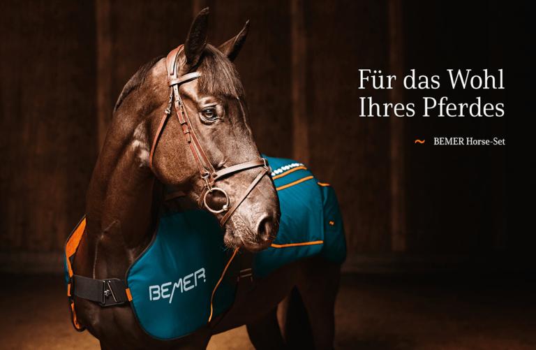 BE〽️ER Horse-Set - Therapie Set für Pferde