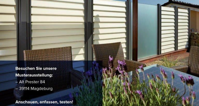Wetterfeste Zäune und Zaunelemente