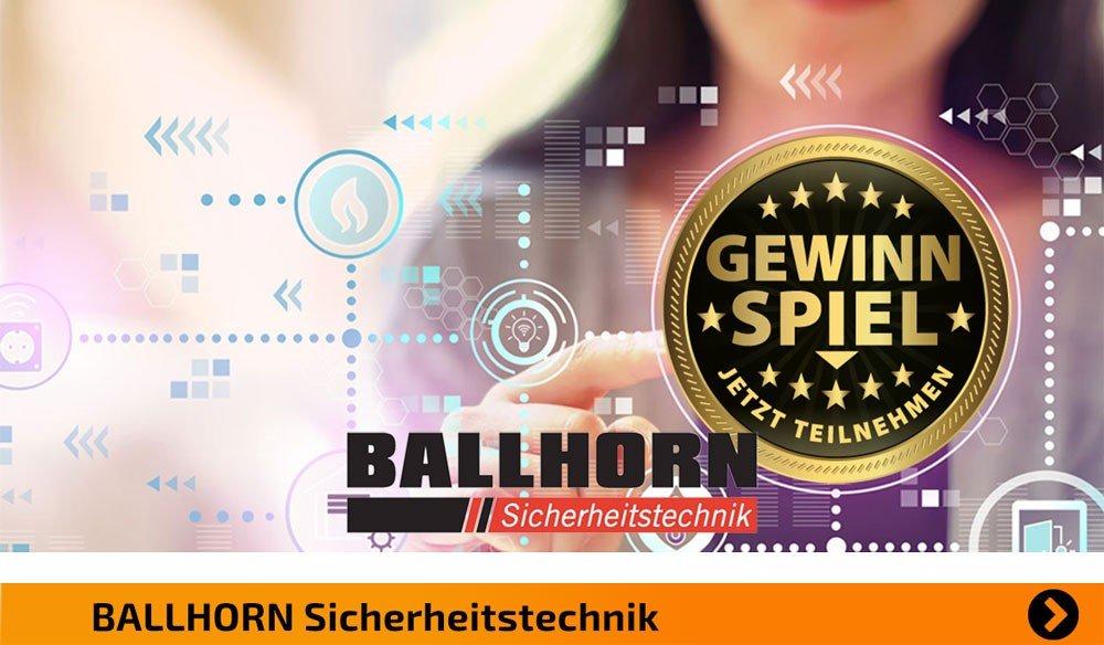 Ballhorn GmbH Gewinnspiel