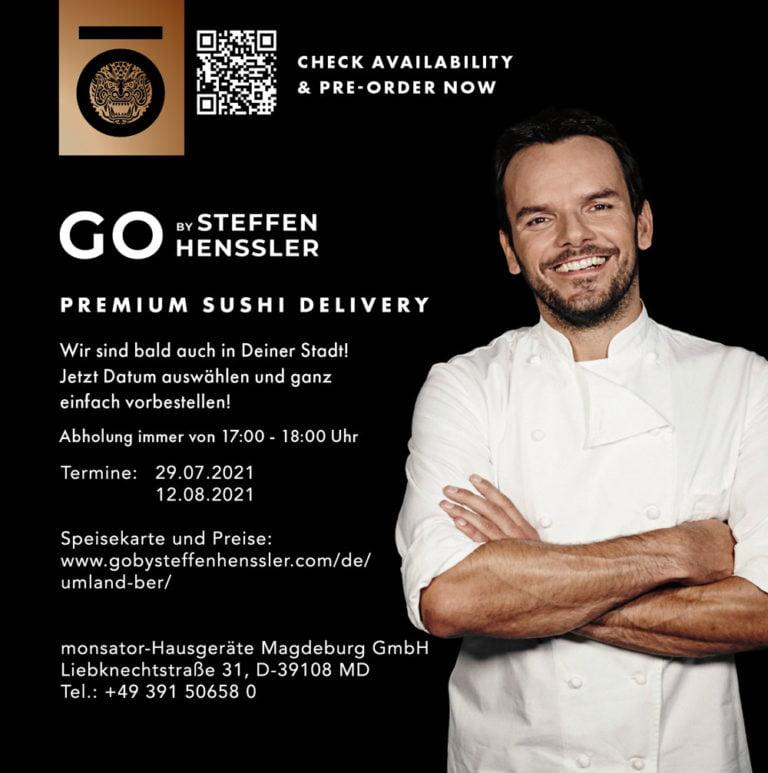 GO by Steffen Henssler bei uns auf dem Hof!