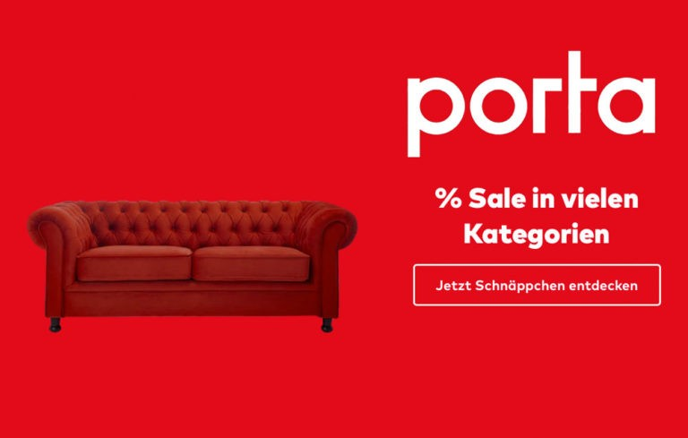 Porta Möbel - Sale & Rabattaktionen